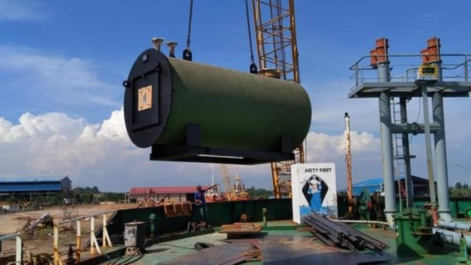 Thermal Oil Heater marine tanker
