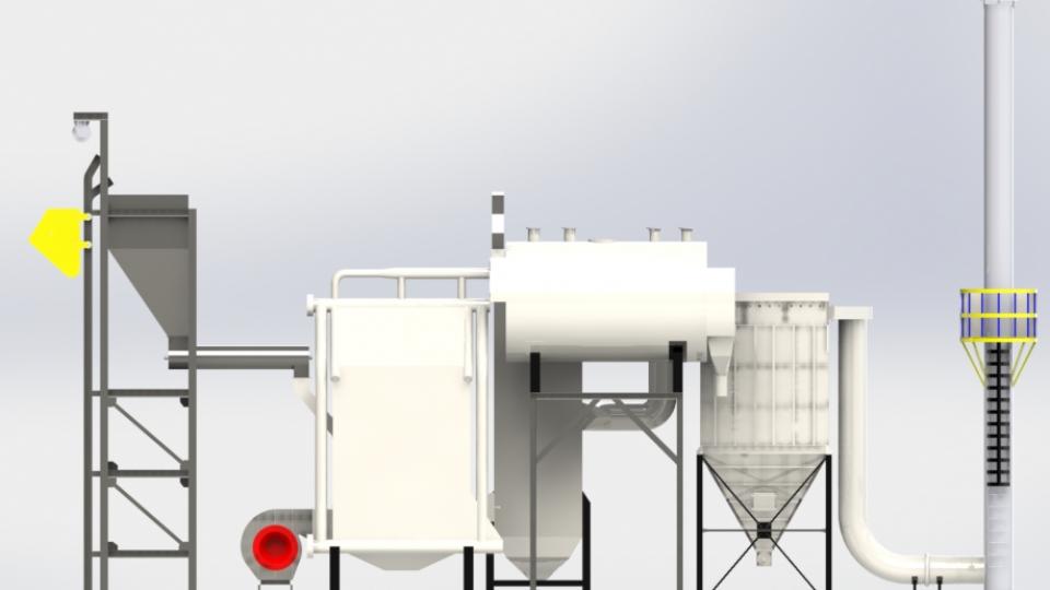 Fabrikasi boiler cangkangsawit