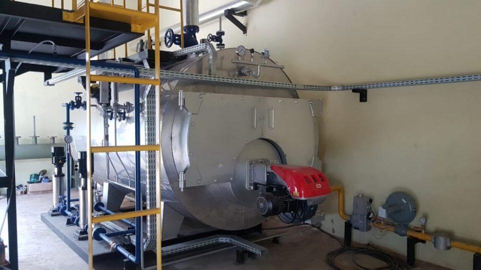 Fired Steam Boiler Indonesia