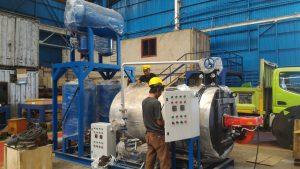 boiler penghatar oil panas