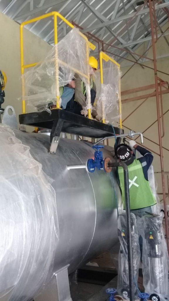 pipe steam boiler