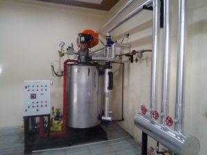 waterBoiler Pemroses Makanan tube boiler fuel gas