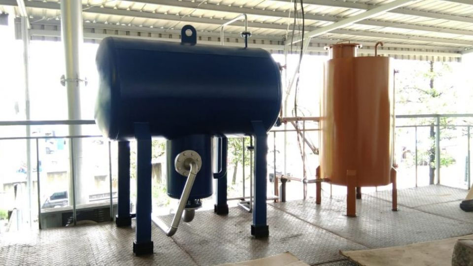 Exspantion tank oil heater