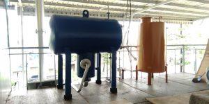 Exspantion tank oil heater