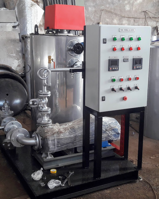 jual hot oil boiler