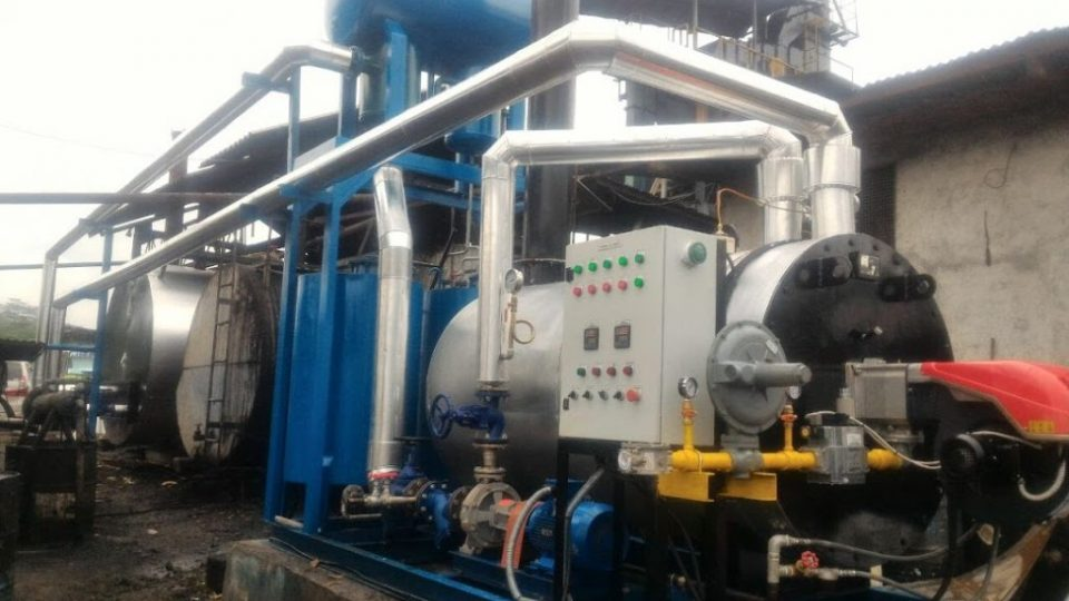 jual thermal oil heater