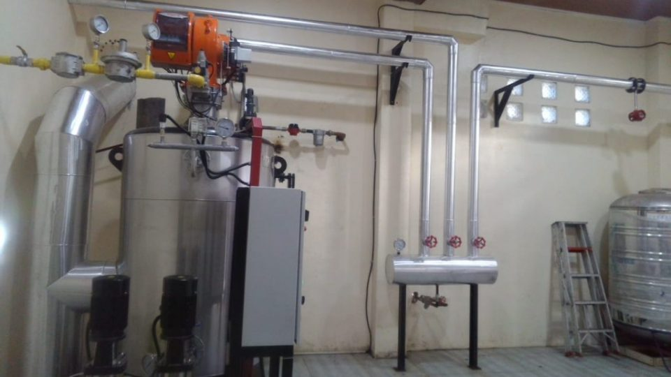 water tube boiler fuel gas