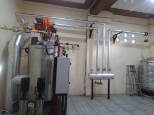 water tube boiler fuel gas