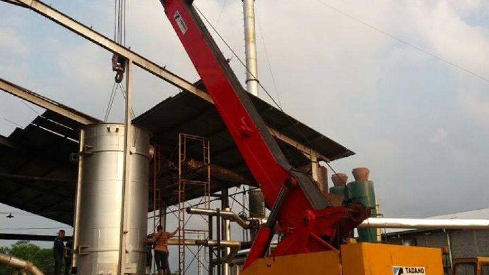 Industrial waste fired boilers