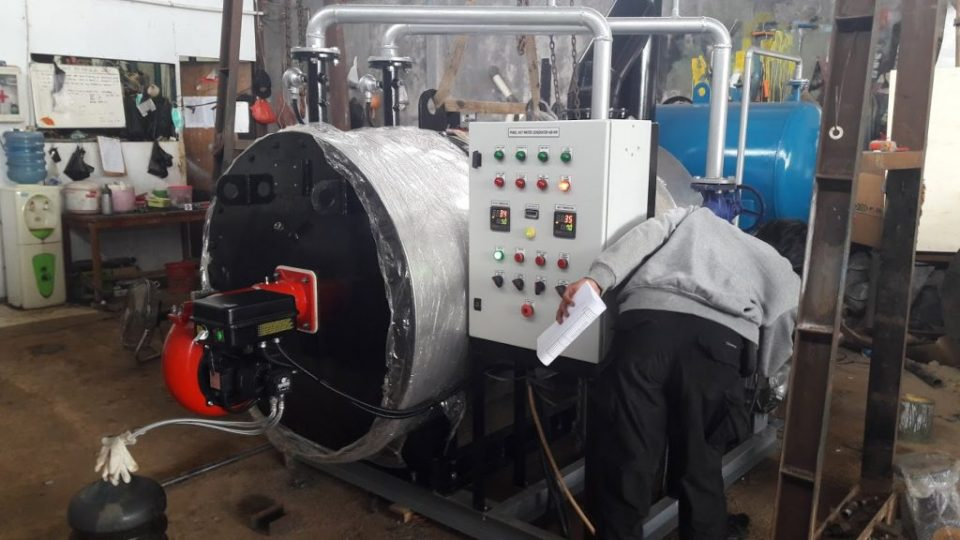 Opeartional Thermal Oil Heater