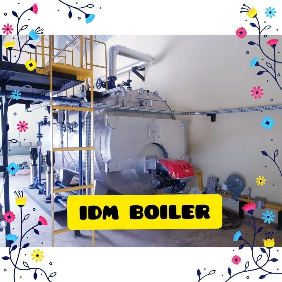 Steam Boiler 10TPH Industri Farmasi