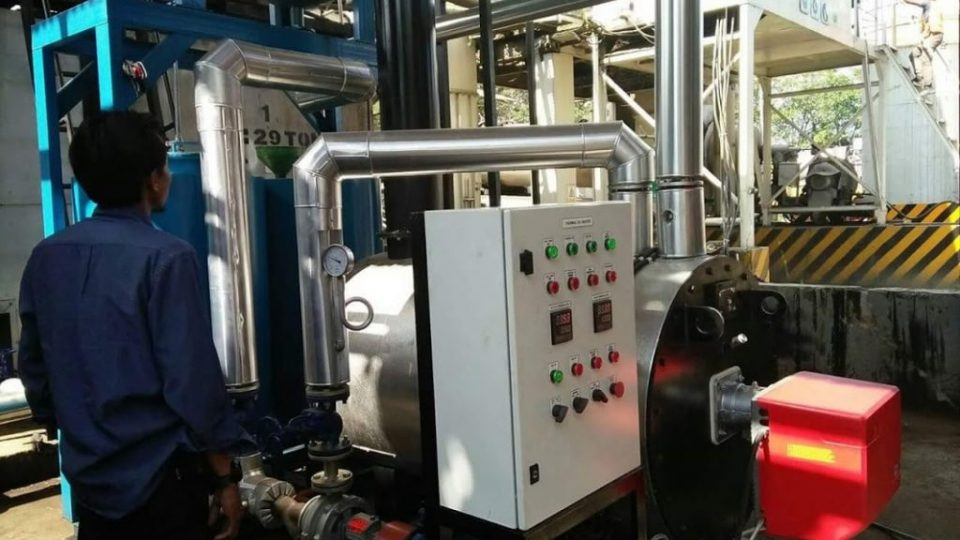 design thermal oil heater