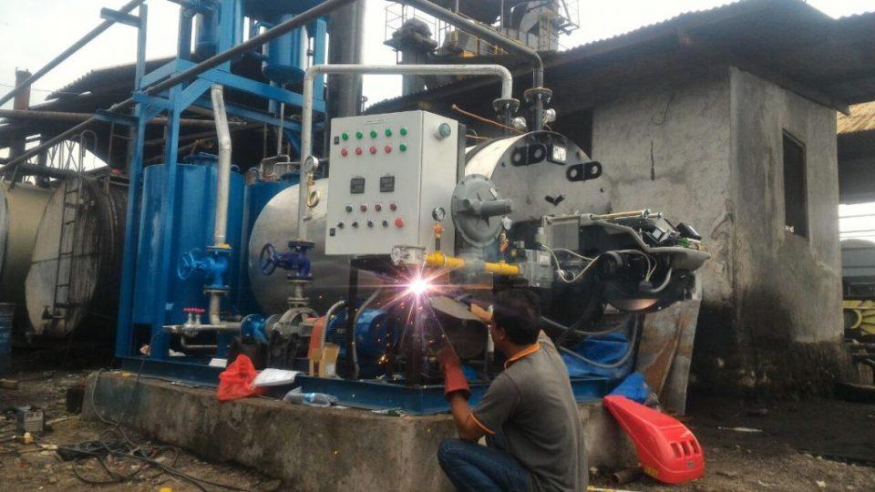 HOT OIL BOILER 600 MCAL AMP MAGELANG.8
