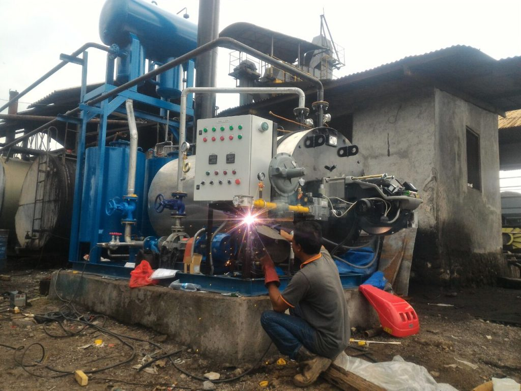 HOT OIL BOILER 600 MCAL AMP MAGELANG.8