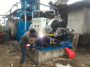 pemeliharaan thermal oil heater