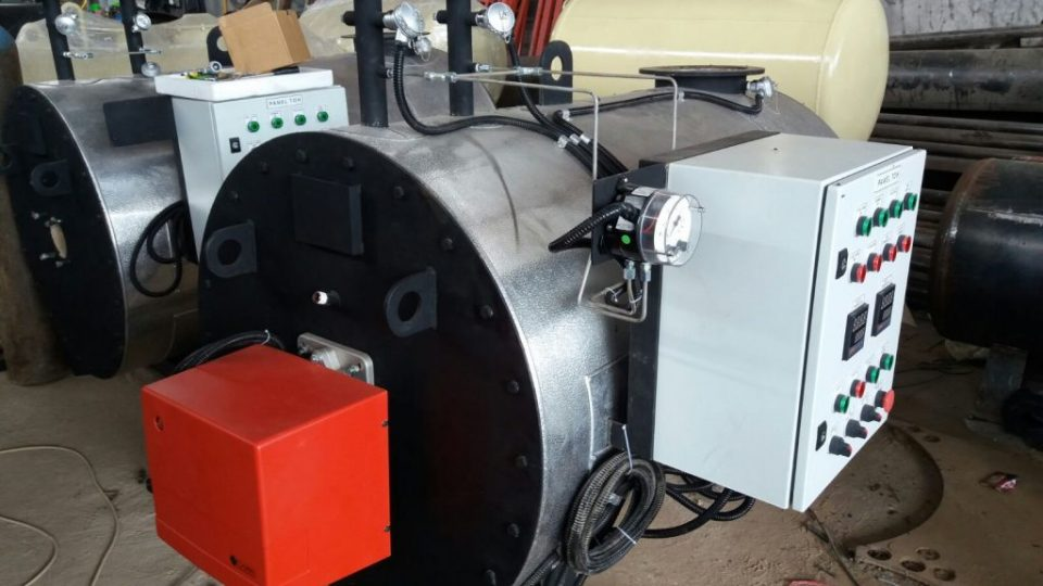 Hot Oil Heater Asphalt