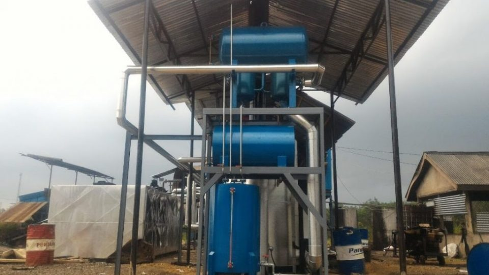 Thermal Oil Heater boiler pemanas tanki aspal