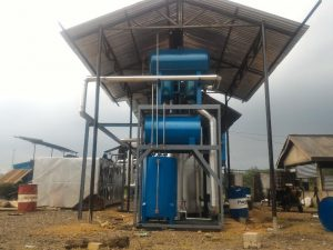 Thermal Oil Heater boiler pemanas tanki aspal