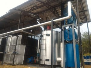thermal oil heater AMP