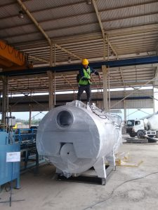 steam boiler Industri makanan