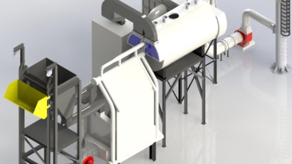boiler fuel cangkang sawit.