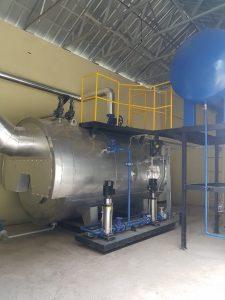 feed water tank boiler