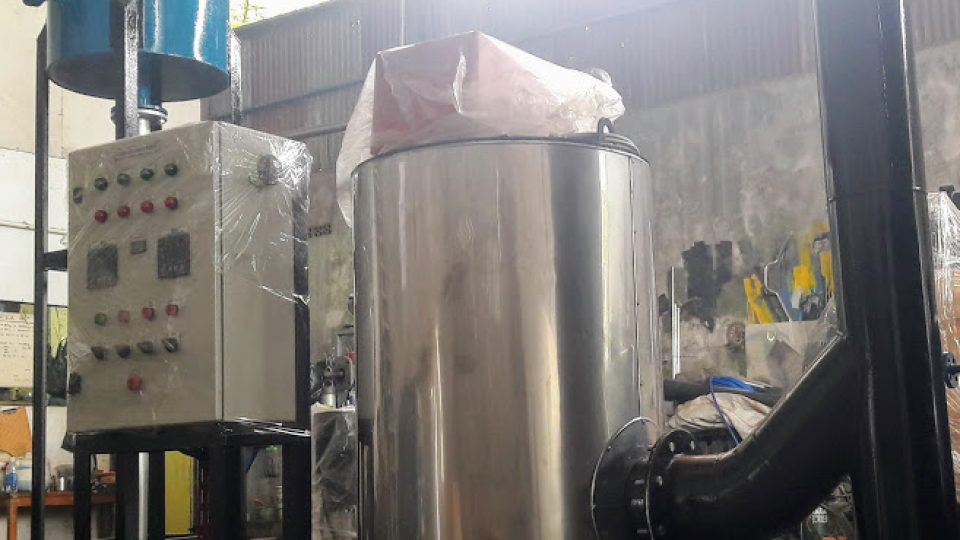 jual hot water boiler