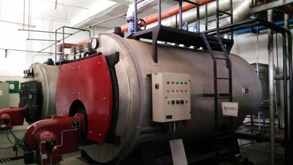 efisiensi steam boiler