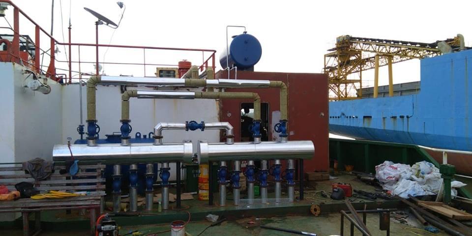 Konstruksi Boiler Marine