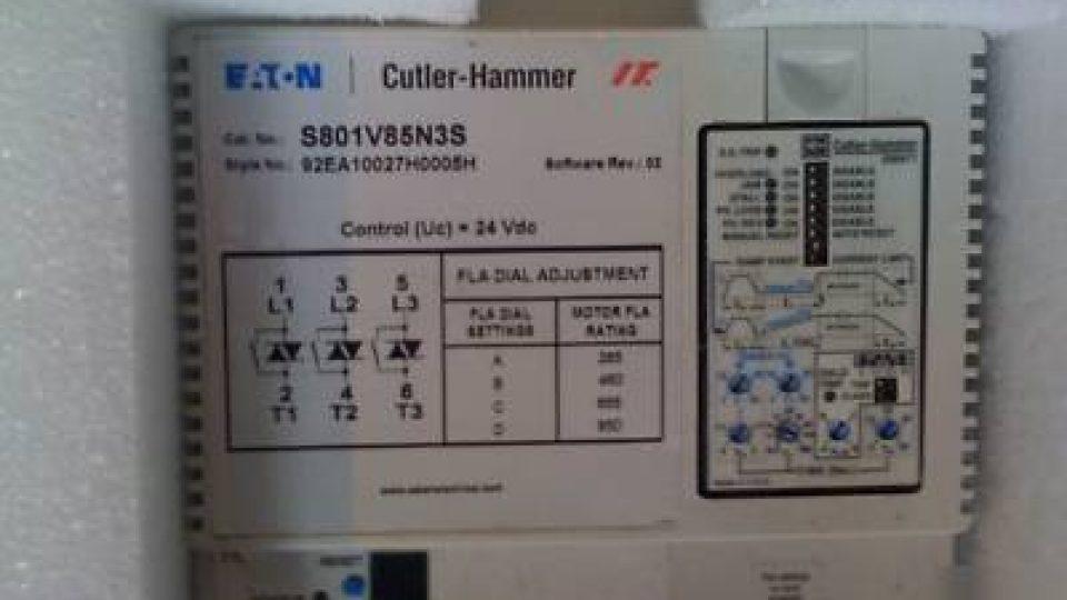 Eaton-cutler-hammer-850A-soft-start-S801V85N3S-starter-picture-1