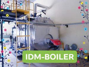 Jual Fire Tube Steam Boiler Boiler Curing Beton