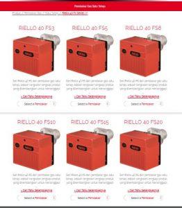 Burner Riello FS40 series