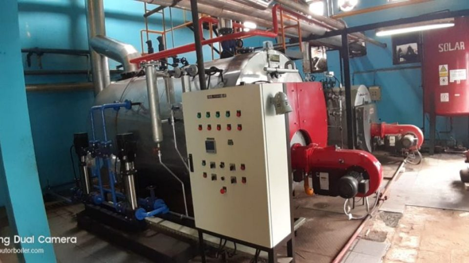 Fire tube steam Boiler 3Phass