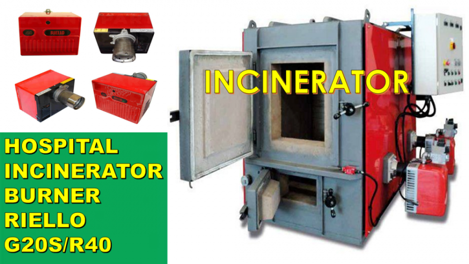Supplier Oil Gas Burner Incinerator