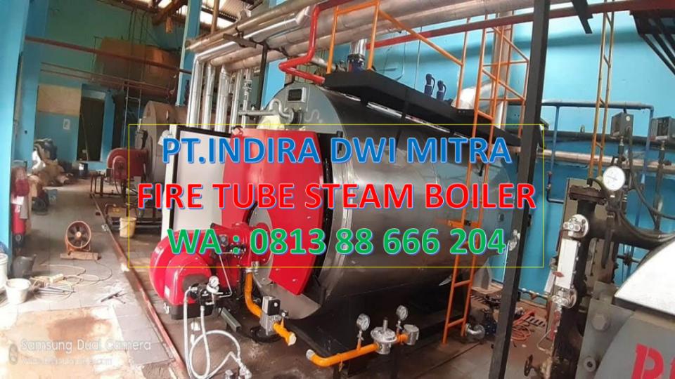 FIRE TUBE STEAM BOILER 4TON