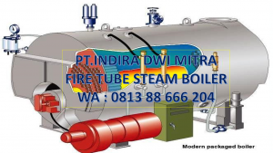 FIRE TUBE STEAM GENERATOR