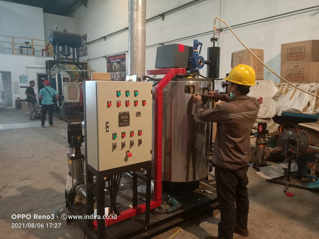 Boiler Setrika Otomatis hemat bahan bakar