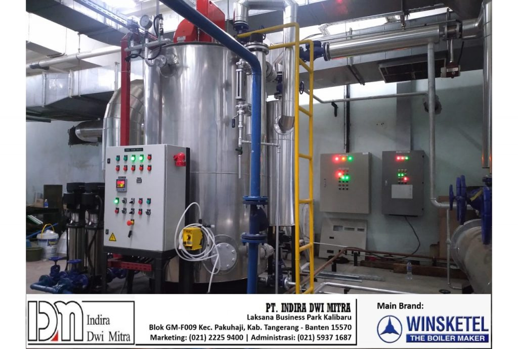 Verical Boiler 1000kg